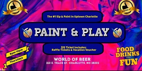 Thursdays: Paint & Play (EpiCenter) tickets