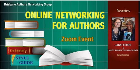 Online author networking event tickets