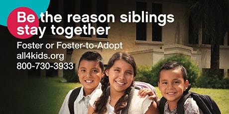 Virtual Orientation Foster Care & Adoption Dec. 17th tickets