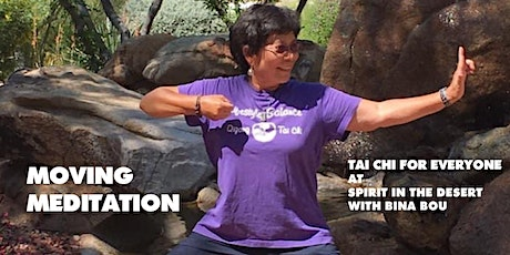 Live via Zoom: Moving Meditation: Tai Chi for Everyone with Bina Bou tickets