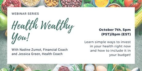 Healthy Wealthy You! tickets