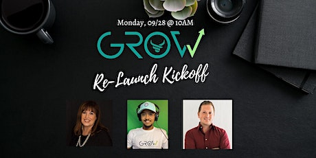 GROW Re-Launch Kickoff Party tickets