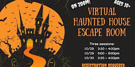 Virtual Haunted House Escape Room tickets