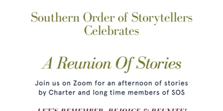A Reunion of Stories! Remember, Rejoice, Reunite tickets
