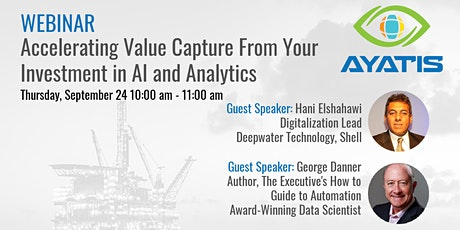 Accelerating Value Capture From Your Investment in AI and Analytics tickets