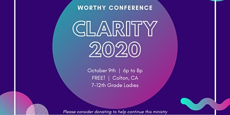 Clarity 2020 | Worthy Conference tickets