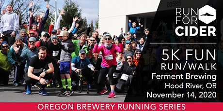Ferment Brewing - 5k Fun Run | 2020 OR Brewery Running Series tickets