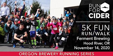Ferment Brewing - 5k Fun Run | 2020 OR Brewery Running Series tickets