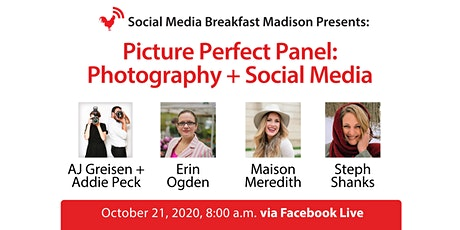 Picture Perfect Panel: Photography + Social Media tickets