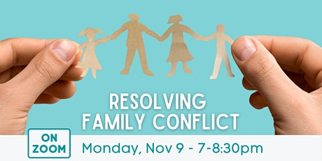 Online: Resolving Family Conflict tickets