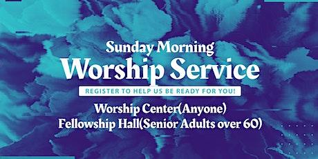 October 25th Worship Service entradas