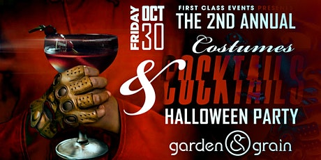 The 2nd Annual Costumes & Cocktails Halloween Party tickets