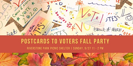 Postcards to Voters Fall Party tickets
