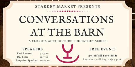 Agricultural Conversations Series tickets