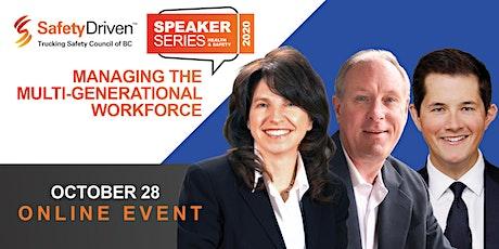Speaker Series Online Event - Managing the Multi-Generational Workforce tickets
