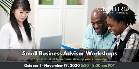 Small Business Advisor Workshop