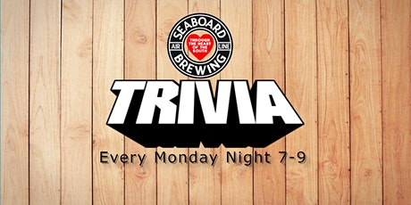 MONDAY NIGHT TRIVIA @Seaboard Brewing With  Ken Markovits tickets