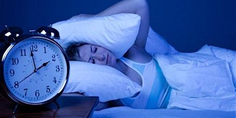 Formation La rééducation au sommeil en cas d'insomnie chronique billets