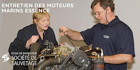 Atelier pratique sur moteurs marins Essence - 12h - (20-52) billets