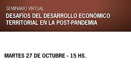 Desafíos del desarrollo económico territorial en la post-pandemia entradas