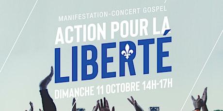 ACTION pour la LIBERTÉ   MANIFESTATION-CONCERT GOSPEL tickets