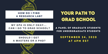 Your path to grad school tickets