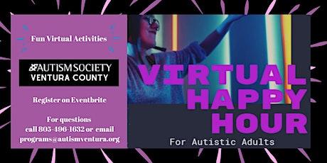 ASD Virtual Adult Social Happy Hour tickets