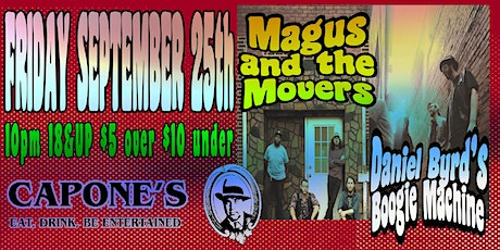 Daniel Byrd Boogie Machine with Magus and the Movers tickets
