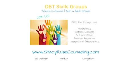 Weekly Teen DBT Skills Group - Denver tickets