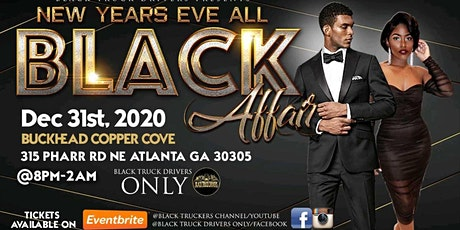 New Years Eve All Black Affair ATL tickets