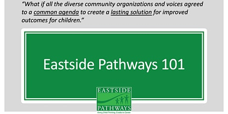 Eastside Pathways 101 10/9/2020 tickets