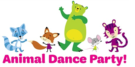 You're invited to an  IN PERSON Animal Dance Party Hosted by Girl Scouts! tickets