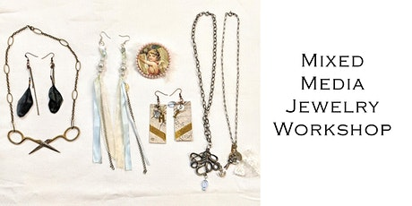 Mixed Media Jewelry Workshop October tickets