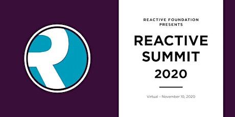 Reactive Summit 2020 tickets