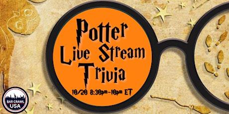 Potter Live Stream Trivia tickets