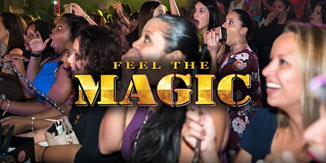 FEEL THE MAGIC-Boston tickets