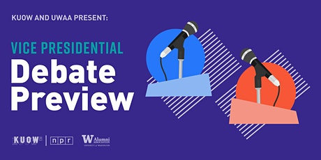 Vice Presidential Debate Preview: Presented by KUOW & UW Alumni Association tickets