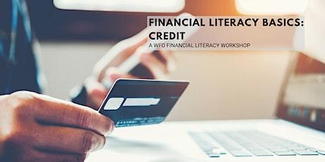 Financial Literacy Workshop: Credit tickets