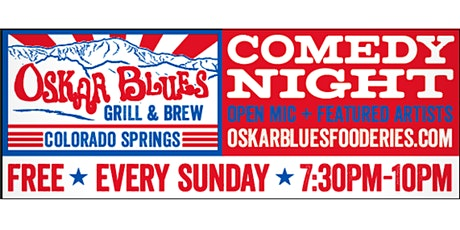 Oskar Blue's Comedy Night tickets