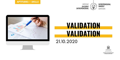 CEE: Validation | EMC: Validation billets