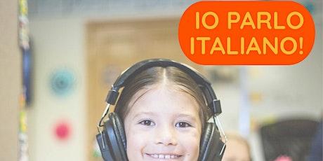Italian for kids 4-5 yo - MONDAY 3:30pm tickets