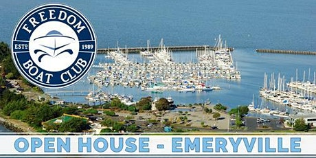 Freedom Boat Club Emeryville | Fall Kickoff Open House! tickets