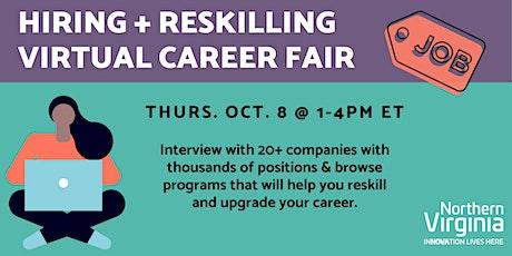 Hiring + Reskilling Virtual Career Fair tickets
