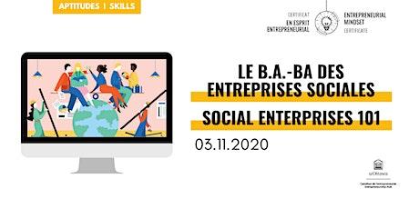 CEE: Le b.a.-ba des entreprises sociales | EMC: Social Enterprises 101 tickets