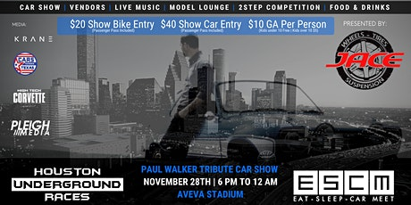 Paul Walker Tribute Meet & Car Show tickets