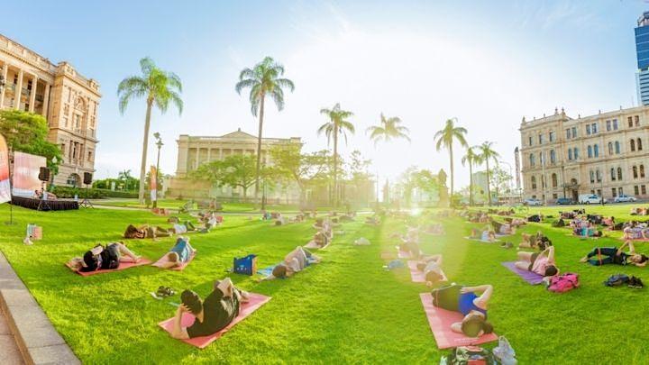 Free Yoga - Medibank Feel Good Program image