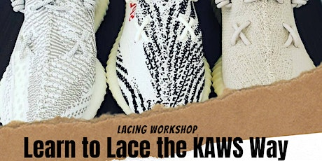 Learn to Lace the KAWS Way tickets