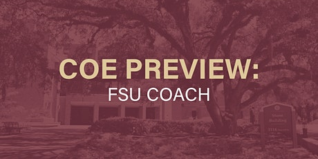 COE Preview: FSU COACH tickets