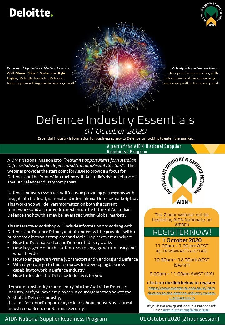 Defence Industry Essentials image