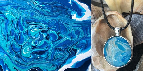 2-Day Intermediate Fluid Art Painting & Pendant Class tickets